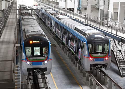 A sugary Hyderabad Metro ride on cards